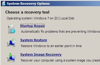 Illustration for article titled Windows 7 Recovery Discs Gets Your System Out of Tight Spots