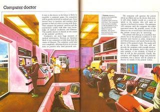 Illustration for article titled Computer Doctor (1982)