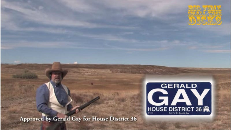 Screenshot via YouTube/Gerald Gay, Big Time Small-Time Dicks logo by staff male Bobby Finger
