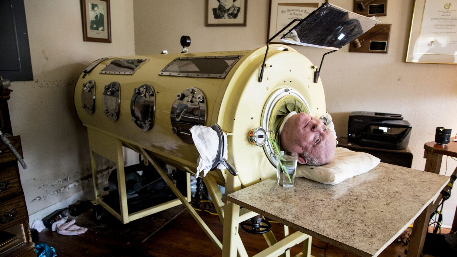 Image result for iron lung