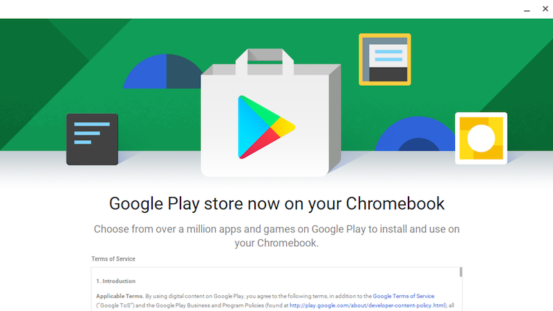 Illustration for article titled The Google Play Store Is Now Available in Chrome OS, Brings Android Apps to Your Chromebook