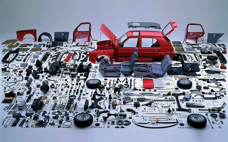 Commonly Stolen Cars Are Worth Less Than The Sum Of Their Parts
