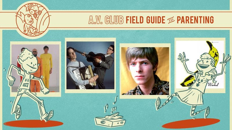 L to R: OK Go, They Might Be Giants, David Bowie, Velvet Underground. Graphic by Nick Wanserski.