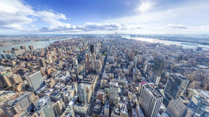 Illustration for article titled Este panorama de 20 Gigapíxeles es la imagen más grande jamás hecha de Nueva York