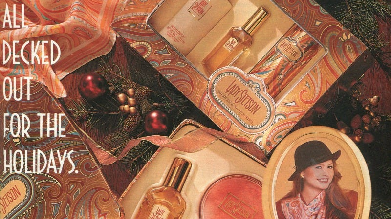Illustration for article titled 12 Days of Christmas Presents Past: Lady Stetson Beauty Products for Your Favorite Cowgirl