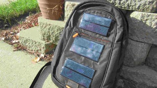 Illustration for article titled DIY Solar Panel Backpack Charges Your Gadgets as You Walk