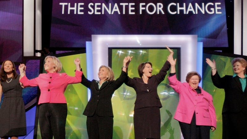 Illustration for article titled Fearing that Congress Has Become a Giant Circle Jerk, Women Withhold Political Donations