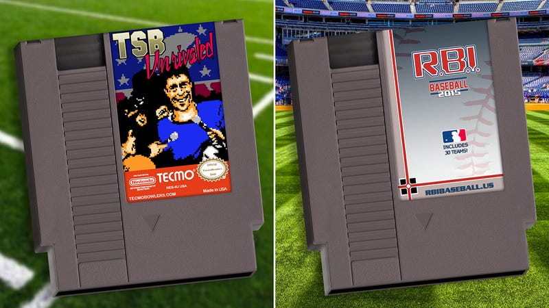 Illustration for article titled You Can Still Buy Classic NES Sports Games, Now With 2015 Rosters