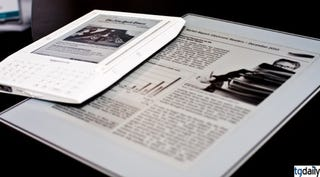 Illustration for article titled Plastic Logic's E-Reader Shown on Video, More Details Emerge