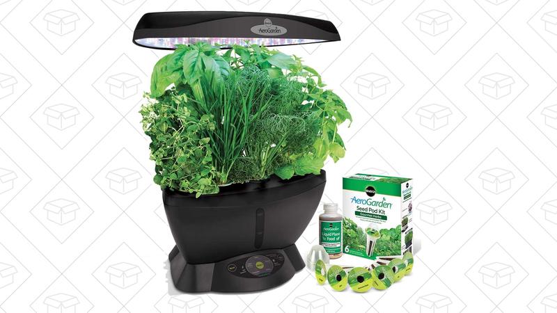 AeroGarden Classic 6 Smart Garden, $100