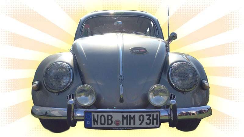 Illustration for article titled I Drove The Ultimate Vintage Beetle With A Race-Built Porsche Engine