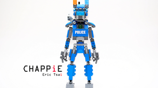 Illustration for article titled Lego CHAPPiE May Not Be The Harbinger Of Sentient A.I., But He Is Cute