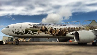 Illustration for article titled Is there any scrap of New Zealand left not plastered with Hobbit advertising?