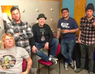 Michael Davenport, far left (via Instagram)
