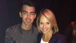 Illustration for article titled Katie Couric Hung Out With the Wrong Jonas Brother Today