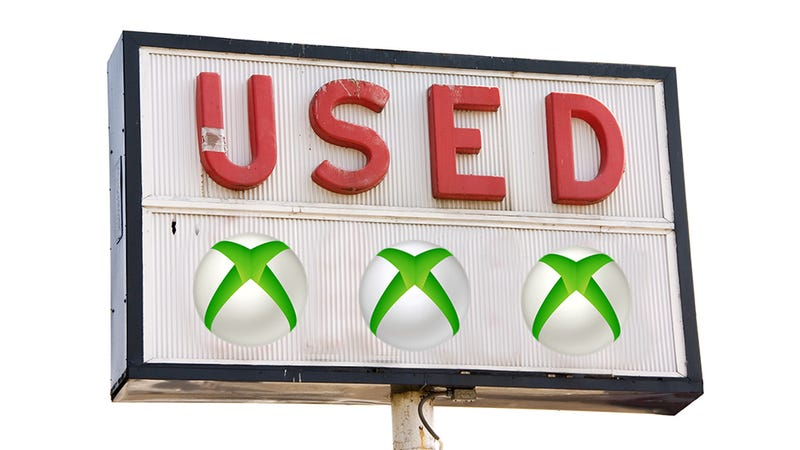 Illustration for article titled Xbox One and Used Games: The Real Reason Everyone's So Mad