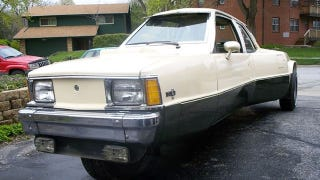 Illustration for article titled Meet the Triation, a three-wheeled Chevy Citation