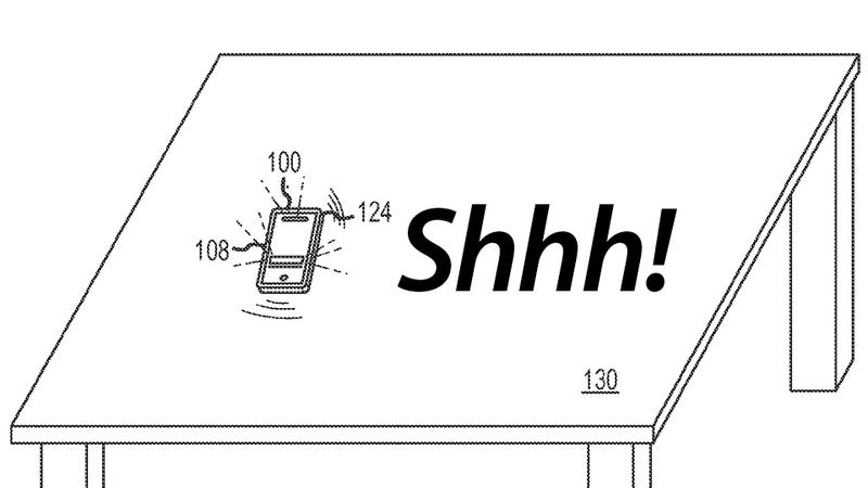 Illustration for article titled Apple's Clever Method to Silence a Vibrating iPhone