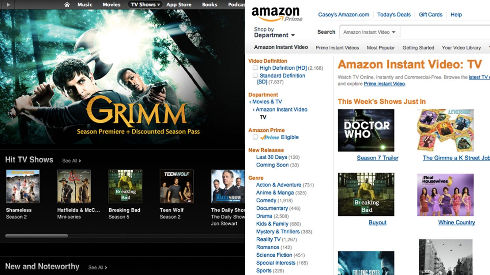 Do You Buy Your Movies And Tv Shows From Itunes Or Amazon