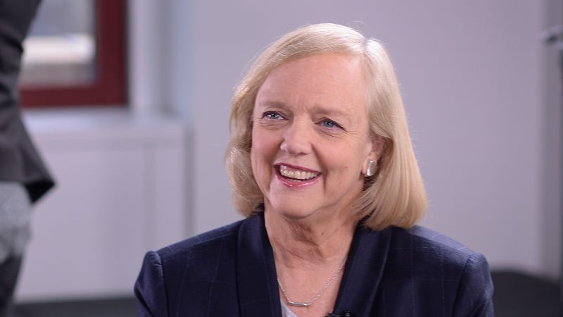 Illustration for article titled Meg Whitman Endorses Hillary Clinton, Says Trump Would 'Endanger National Security'