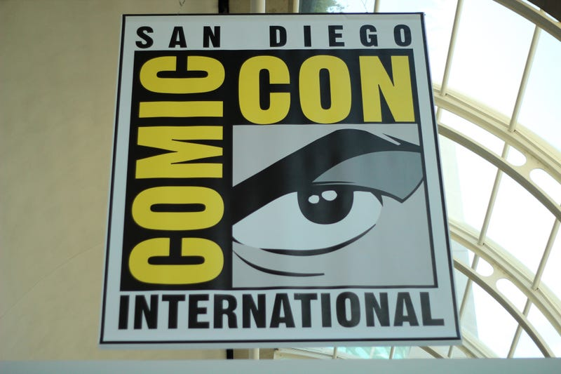 Image: The obligatory shot of the SDCC logo by Pat Loika/flickr/CC BY