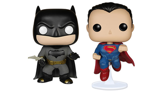 Illustration for article titled Our First Ever Batman v SupermanMerchandise is, of Course, a Funko Pop