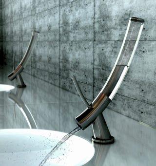 Illustration for article titled Bong-Shaped Faucet Grants Conservation-Friendly, Liter-Sized Bursts