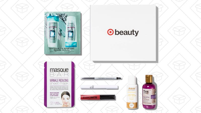 Target Beauty Box with $3 credit, $7