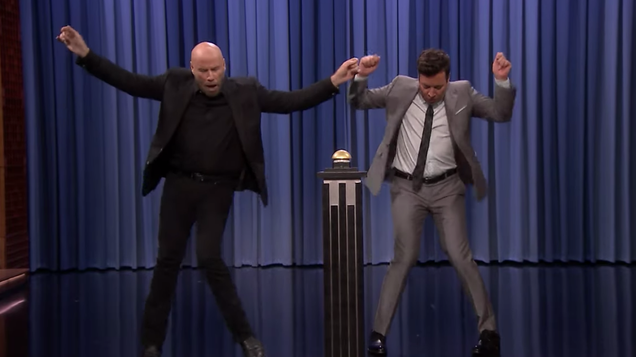 Jimmy Fallon tries, fails to out-Travolta John Travolta
