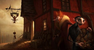 Illustration for article titled Concept Art for Pinocchio