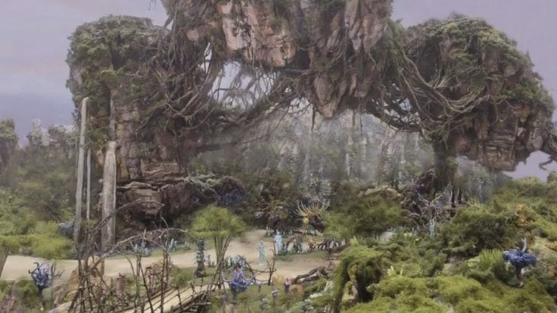 Illustration for article titled Here's a first look at the Avatar Land you forgot was a thing