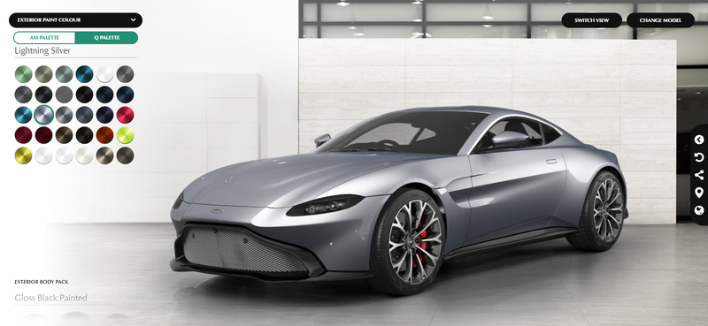 Illustration for article titled Aston Vantage configurator is live