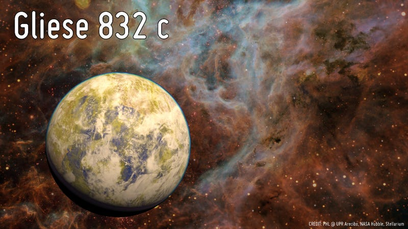 Illustration for article titled This Potentially Habitable Super-Earth Is Just 16 Light Years Away