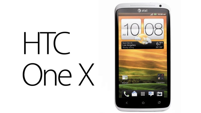 Illustration for article titled The HTC One X Hands-On: The Most Exciting Android Phone to Date (UPDATED)