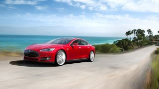 Illustration for article titled The Tesla Model S Raises The Suspension Based On Location