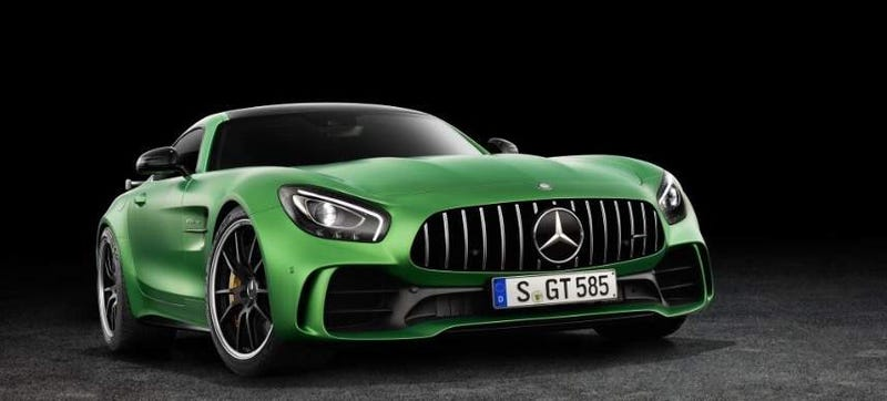 Illustration for article titled Mercedes-AMG GT R: This Is It