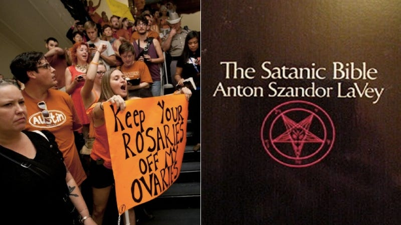 Illustration for article titled Yup, Even The Official Church of Satanism Is Pro-Choice
