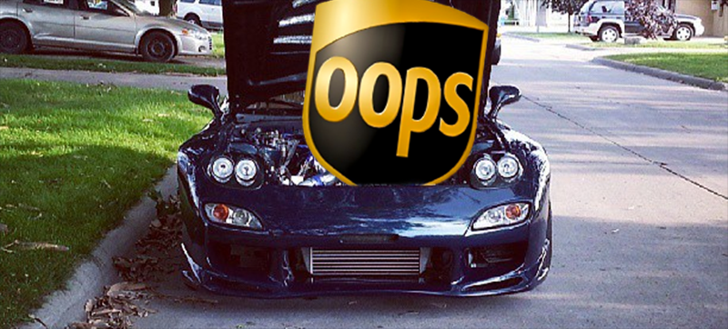 Illustration for article titled How UPS Screwed A Popular YouTube Car Guy Out Of $10,000