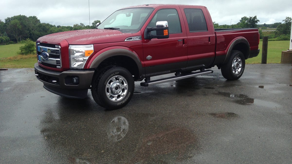 2015 Ford F 250 Gets A Diesel Dose Of Viagra But Its Still An Old Man Super Duty Wiring 7 Blade Trailer