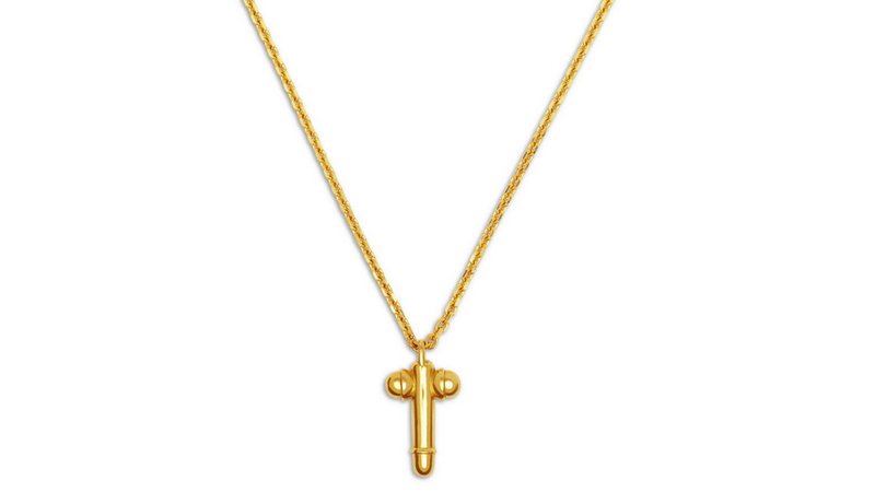 Illustration for article titled Catholic Group So, So Mad About Tom Ford's Cross-Shaped Dick Pendant