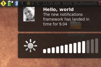 Illustration for article titled Get Ubuntu's New Notifications in Your System Now