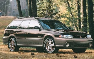 Illustration for article titled Got the opportunity to drive a Legacy Outback 30th Anniversary
