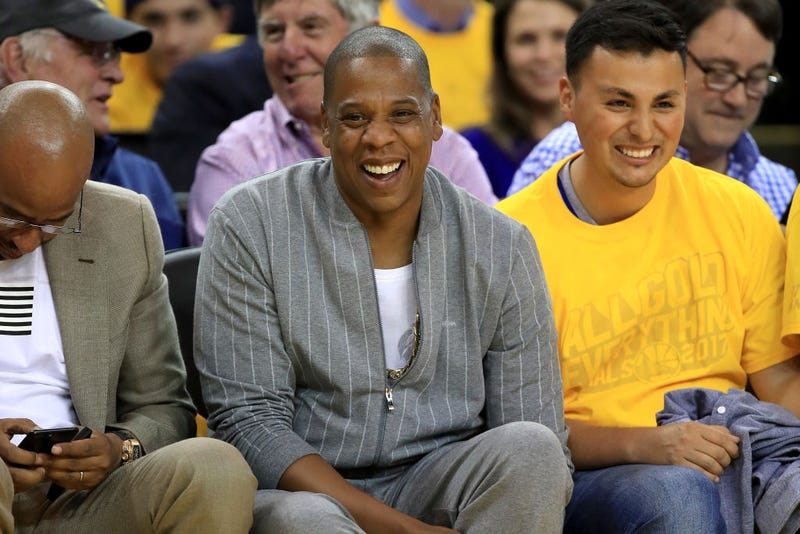 Jay-Z, center (Ezra Shaw/Getty Images)