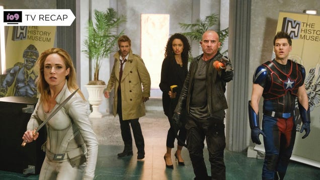 Legends of Tomorrow s Timely Season Finale Celebrates Revolution