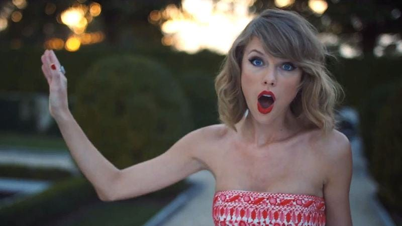 """Illustration for article titled Taylor Swift was all, """"Talk to the hand,"""" and Apple Music is like, """"Sorry"""""""