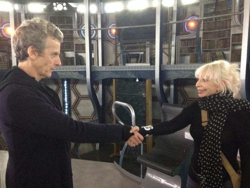 Illustration for article titled When the Twelfth Doctor meets Jo Grant, adorableness happens