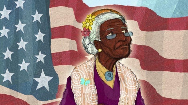 """Lillian's Right to Vote."" Image courtesy of Penguin Random House."