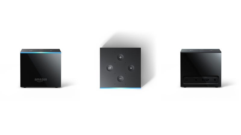 Illustration for article titled The Amazon Fire TV Cube Is Another Alexa-Powered Curiosity