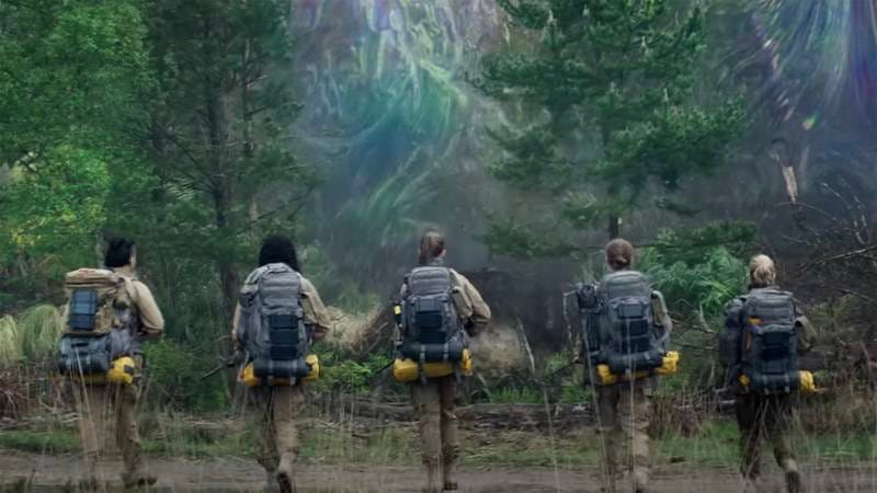 A shot from 'Annihilation.'