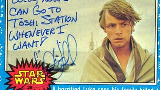 Mark Hamill's Autographs Are The Best